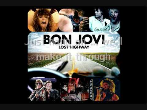 Bon Jovi - Seat Next To You [Lyrics]