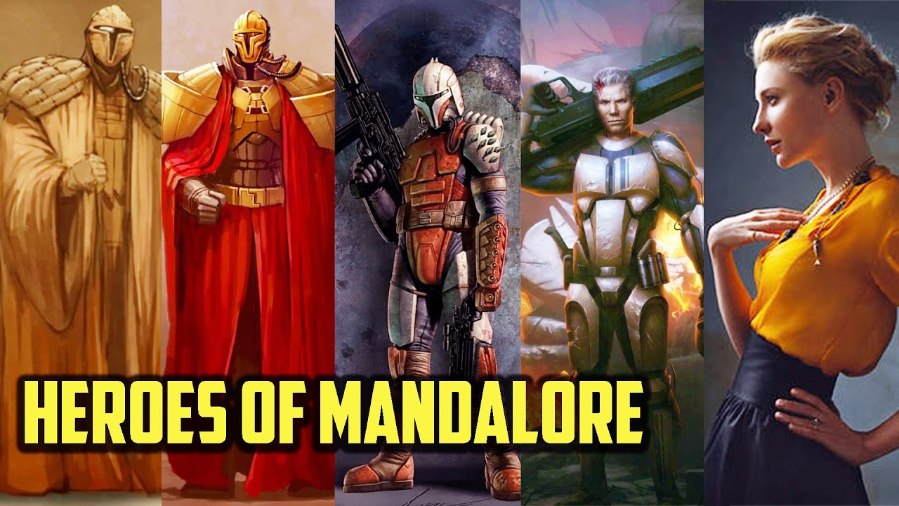 5 Significant Figures in Mandalorian History