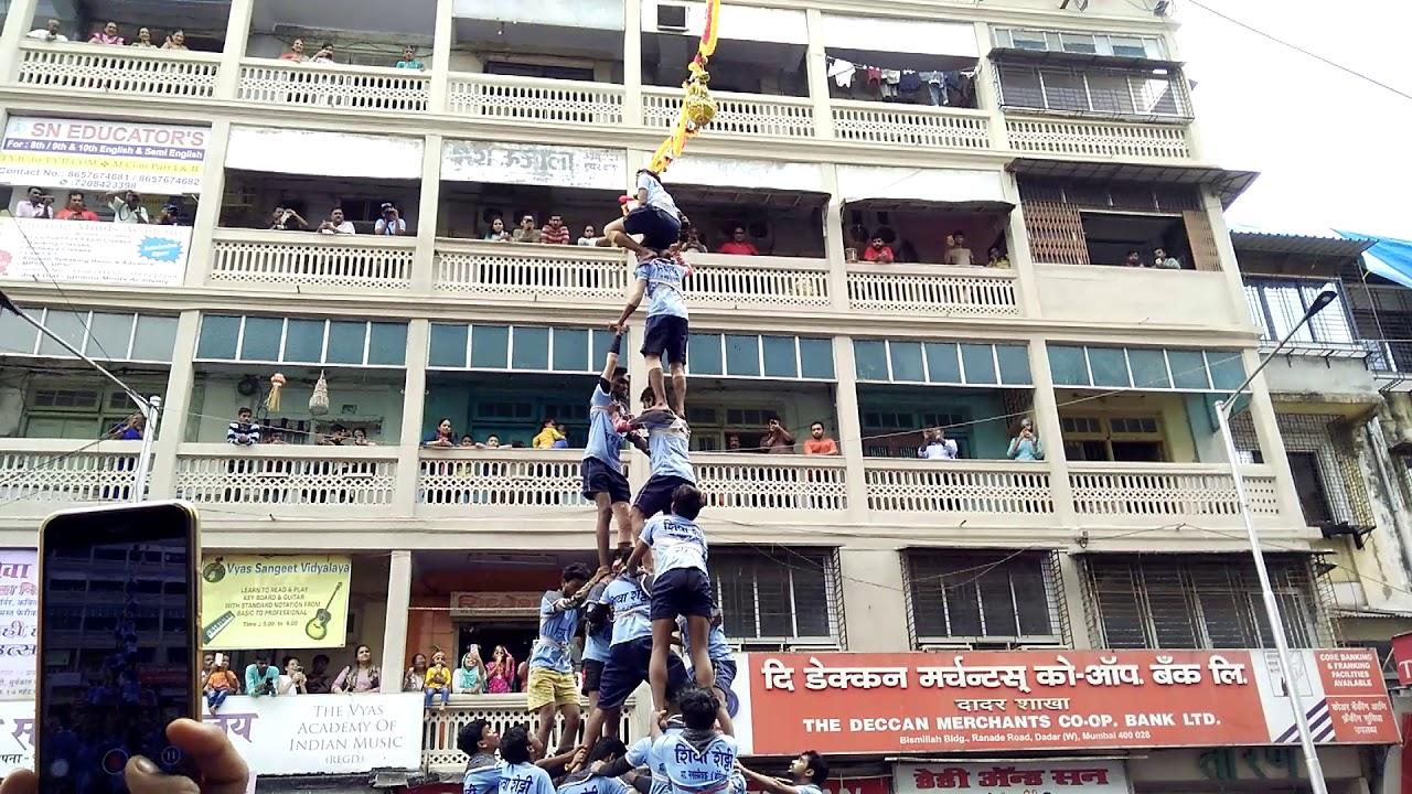 Live DahiHandi  - Dadar, Mumbai