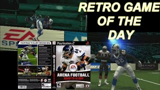 RETRO GAME OF THE DAY- ARENA FOOTBALL ROAD TO GLORY