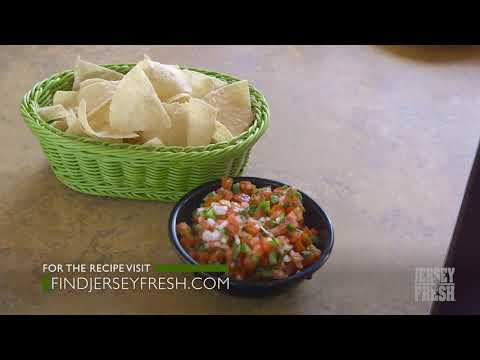 Chef Mark talks Jersey Fresh Salsa
