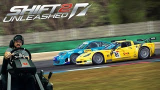 Гонка на выносливость Brno Circuit на Chevrolet Corvette Z06R GT3 Need for Speed Shift 2: Unleashed