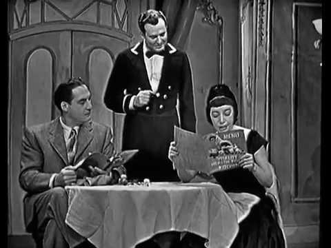 SID CAESAR: Health Food Restaurant THE HICKENLOOPERS YOUR  OF S, Nov 21, 1953