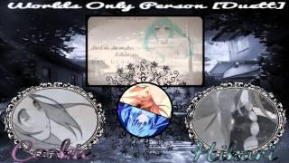 World´s only Person (Sekai ni Tada Hitori no) [Duett]