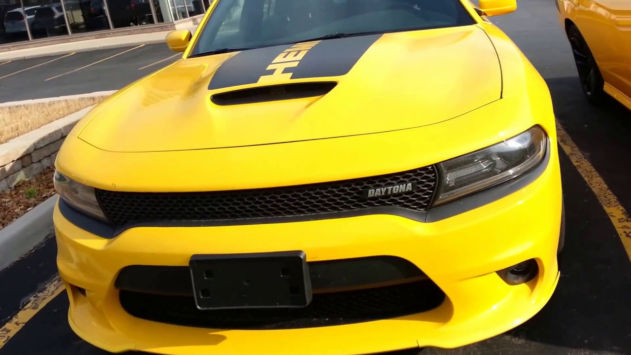Cars Of Summer 2017 3 Yellow Jacket Charger Daytonas With Mister