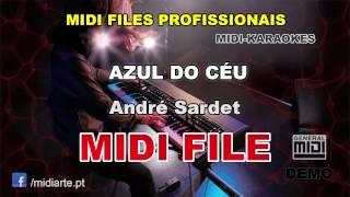 ♬ Midi file  - AZUL DO CÉU - André Sardet