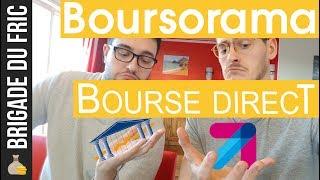 Boursorama vs Bourse Direct : ouvrir un compte bourse + PARRAINAGE