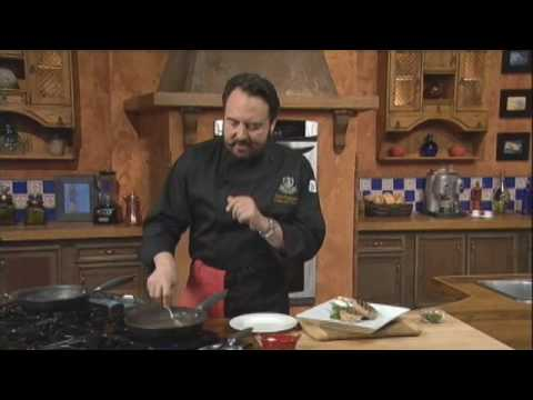 Part 2 - Pork Chops with Nancibella Sauce - Chef Nick Stellino