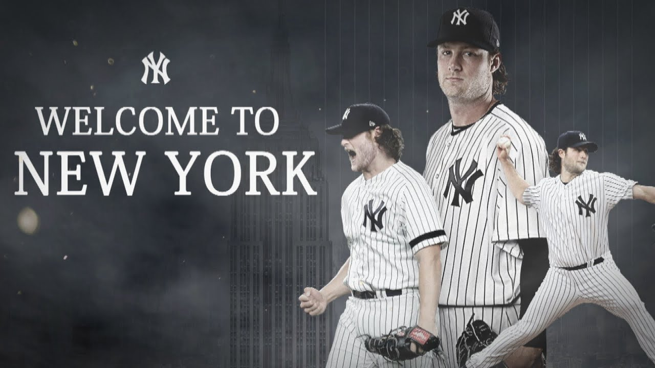 Welcome To New York Gerrit Cole New York Yankees Youtube