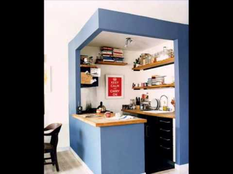 Video sample design small kitchen youtube for Sample small kitchen designs