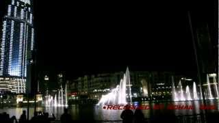 Dancing Fountain of Dubai Mall (Arabic + Mozart 40)