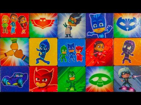 Игры герои в масках. Игра на память. Развитие памяти у детей. Мемори.