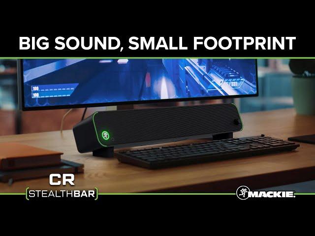 CR StealthBar - Desktop / PC Soundbar - Promo Video