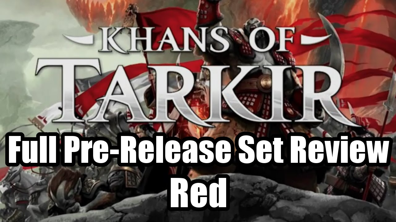 Download Khans of Tarkir Limited Set Review: Red Cards