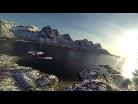 Filming over Leines og Brennvika