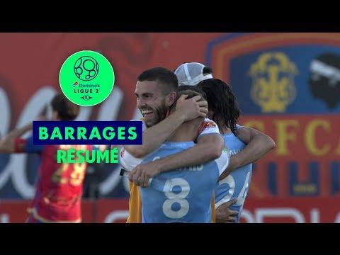 Gazélec FC Ajaccio - Le Mans FC ( 0-2 ) - Résumé - (GFCA - LEMANS) / 2018-19