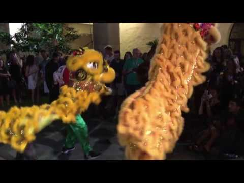 Chinese Lion Dance Association (CLDA) - 2017 Honolulu Museum of Art (Chinese New Year)