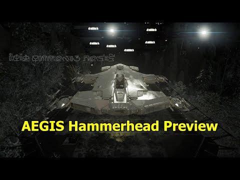 Star Citizen Aegis Hammerhead preview