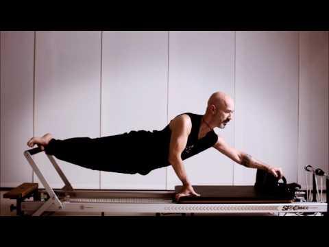 Imagenes de Pilates con máquinas