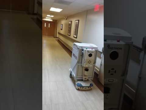 Lost Robot at VA Hospital?