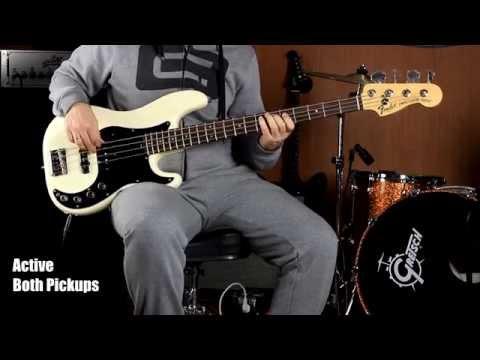 Fender Precision Deluxe N3 Bass [angeldust review]