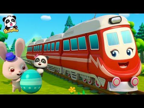 *NEW*달걀안에 꼬마기차 나와요~!|꼬마기차 출발~!|모모마법 변해라!|베이비버스 인기동요 모음 |BabyBus
