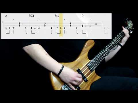 A-Ha - Take On Me (Bass Only) (Play Along Tabs In Video)