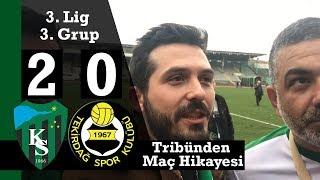 Kocaelispor İsmetpaşa Stadı'nda Tekirdağ'ı Yendi | Hodri Meydan Lideri Enver Güler'le Röportaj