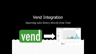 Importing sales history directly from vend pos into prophet forecasting