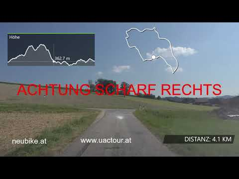 Streckenvideo 1. Etappe UACTour 2020 Rainbach im Innkreis