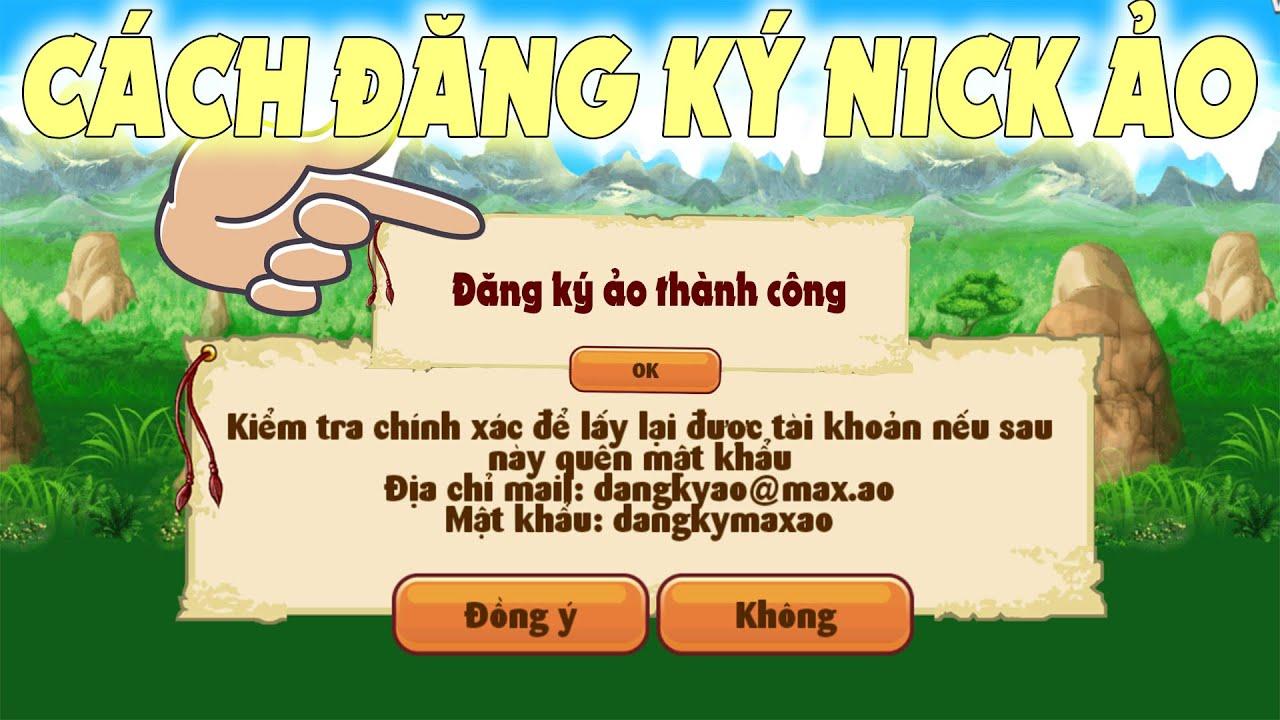 [NRO] Cách Đăng Ký Tài Khoảng Ảo Ngọc Rồng Online