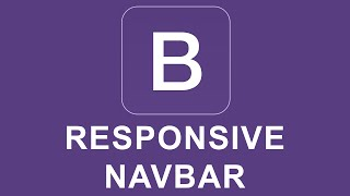 Bootstrap 4 Tutorial 40 - Responsive Navbar thumbnail