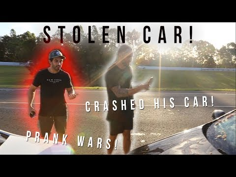 I STOLE SHAMMI'S CAR!!