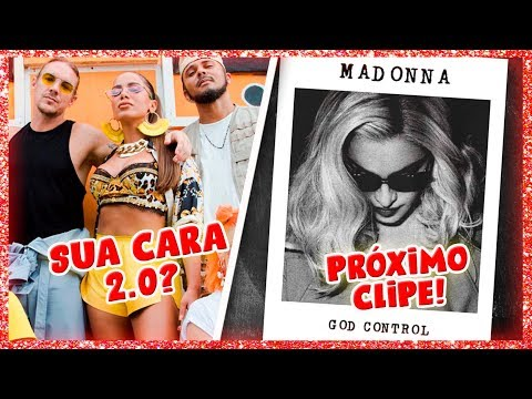 """MAJOR LAZER & ANITTA """"MAKE IT HOT"""" e """"GOD CONTROL"""" PRÓXIMO  de MADONNA"""