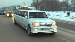 Гулянка город Тараз!Шынгыс toyota lend cruiser.mp4