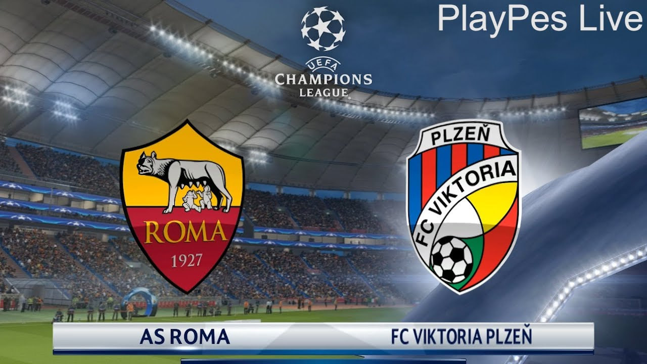 Image result for AS Roma vs Viktoria Plzen UEFA Champions League 2018 Live