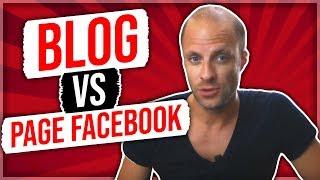 3 conseils IMPORTANTS au sujet du Blog vs Page Facebook
