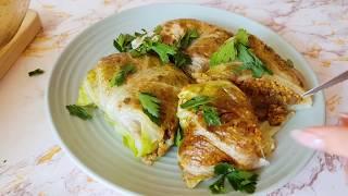 Голубцы с киноа | Веганский рецепт | Блюдо без мяса