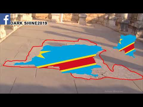 Carte de la RD Congo en Israël , la noirceur d'Israël et élections au Congo