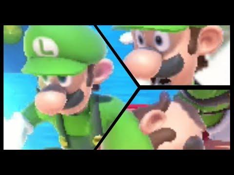 Luigi Struggles in Smash Bros Ultimate thumbnail