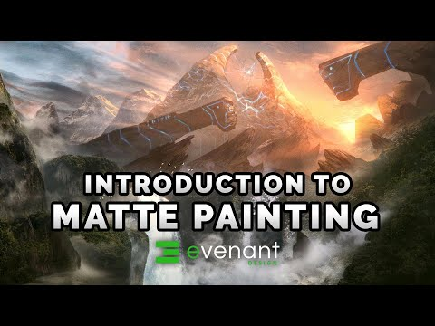Introduction To Matte Painting - Digital Painting Basics - C