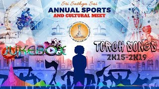 Sports Meet Torch Songs | 2K15 - 2K19 | Jukebox 06 | Students of Sai