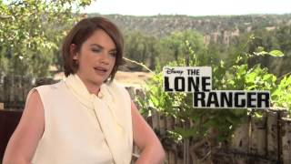 "Ruth Wilson's Official ""The Lone Ranger"" Interview - Celebs.com"