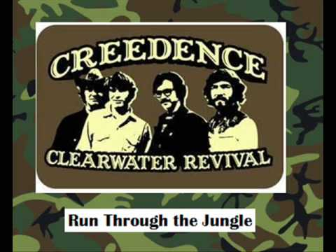 Creedence Clearwater Revival - Run Through The Jungle + Lyrics