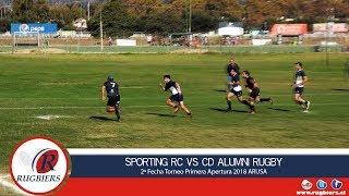 Rugbiers TV - Sporting RC vs CD Alumni Rugby - Full Match