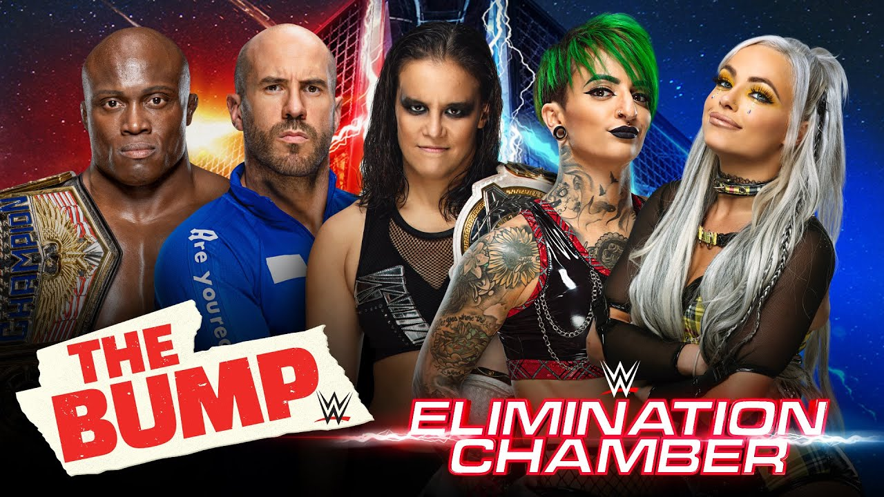 LIVE WWE The Bump's Elimination Chamber Preview