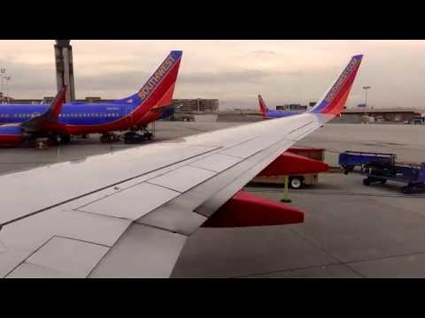 Full Southwest Airlines KOMA Takeoff, KLAS Landing