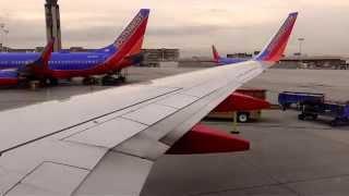 Full Southwest Airlines KOMA Takeoff, KLAS Landing