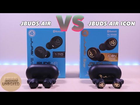 JLab JBuds Air vs Air Icon - What is the difference? (Review & Mic Sample)