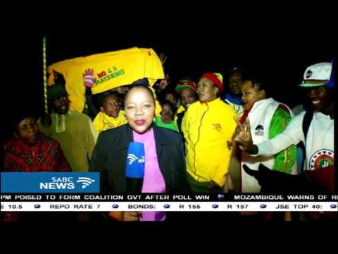 Celebrations underway in Lesotho as Thabane returns to government